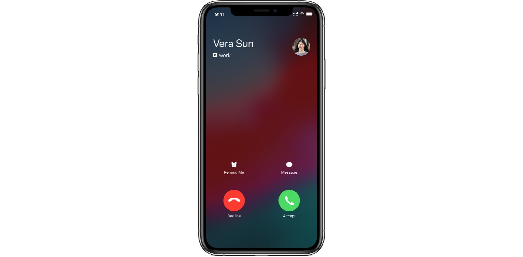 Who does this Vera Sun think she is? This is why you need to learn how to decline iPhone calls.