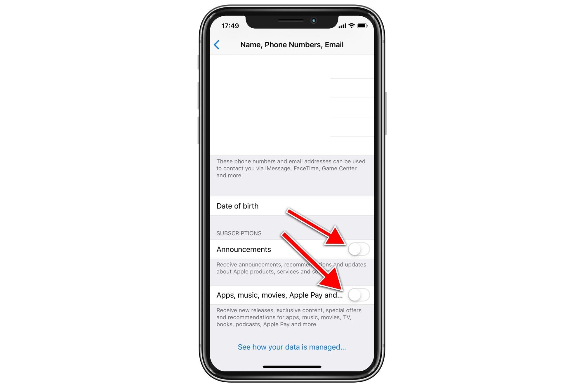 Apple promo emails: Despic-apple.