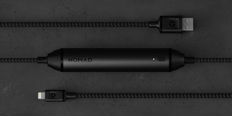 Nomad 1.5 Battery Lighting Cable: This super-tough cable is also a charger, with enough juice to refill an iPhone 8.
