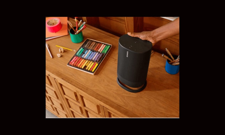 leaked photo of Sonos Move