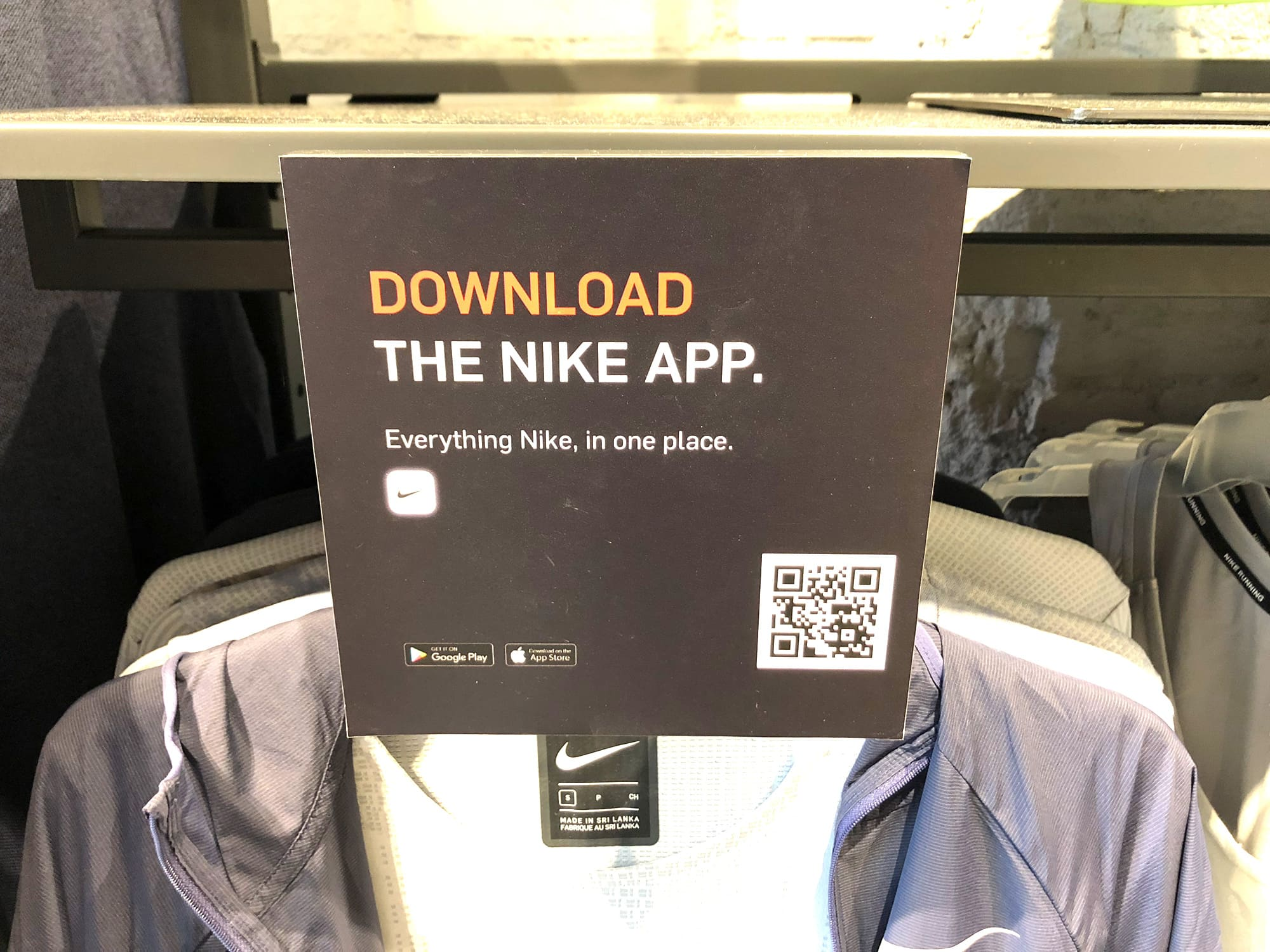 Nike+ used to log your workouts. Now it helps you to buy clothes.
