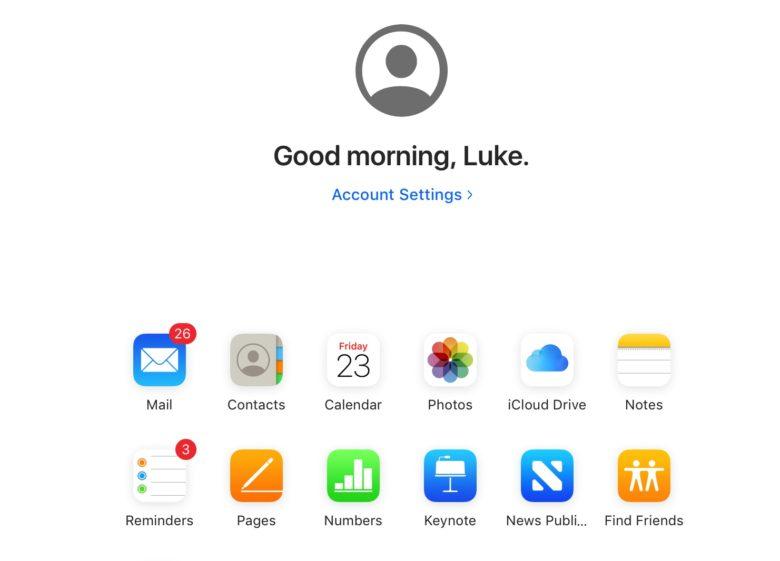 iCloud new version