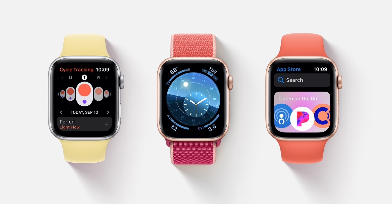 watchOS 6 new features
