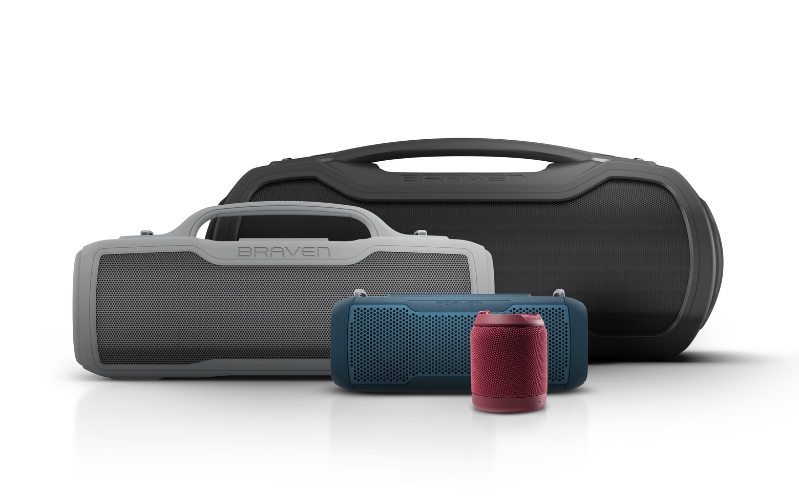 Braven BRV line of Bluetooth speakers