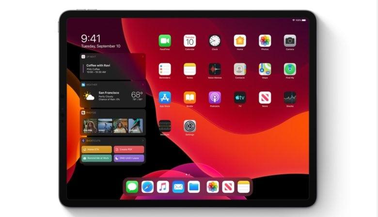 Dark Mode on iPadOS