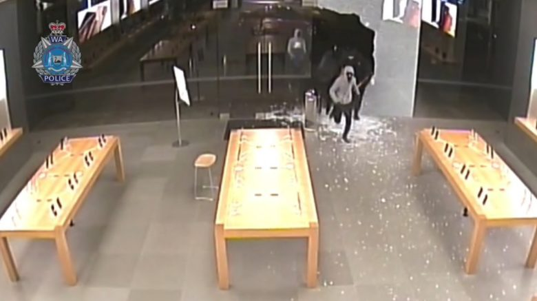 Apple Store Perth robbery