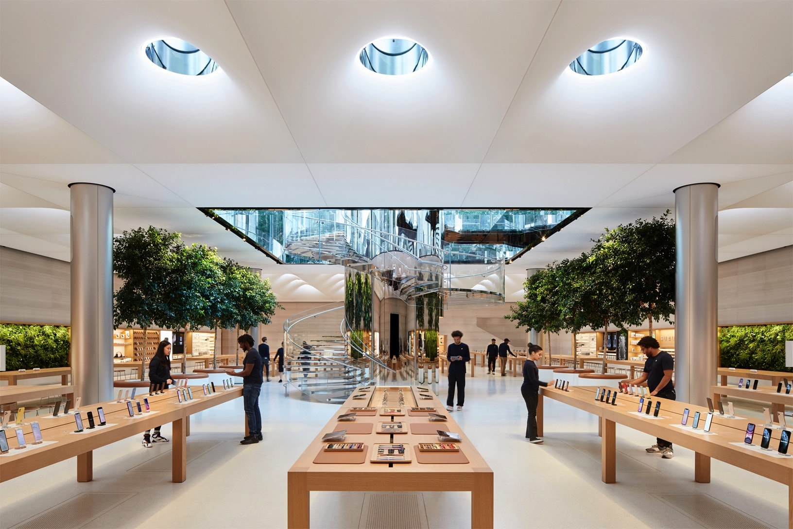 Apple will show off Apple TV+ at its Fifth Avenue Apple Store.