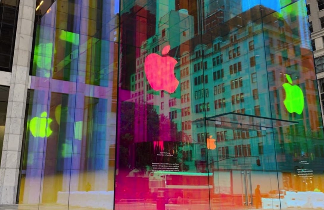 Apple Store glass