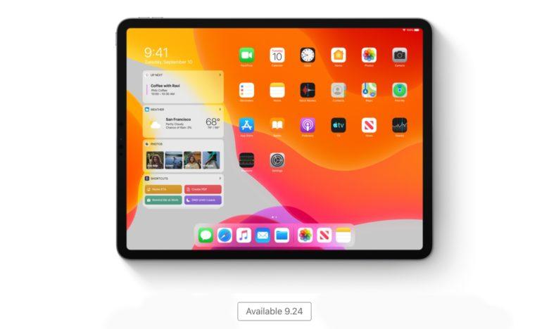 iPadOS launch date