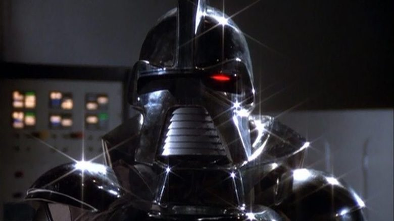 Cylon warrior from Battlestar Galactica