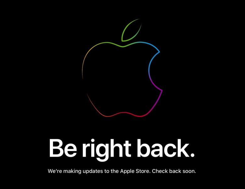 Be right back Apple Store