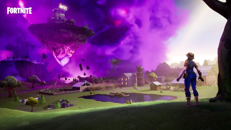 Fortnite's floating island returns with new Zapper Trap