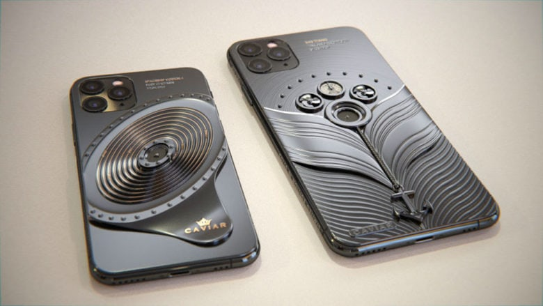 Gargarin space craft, Titanic iPhones from Caviar