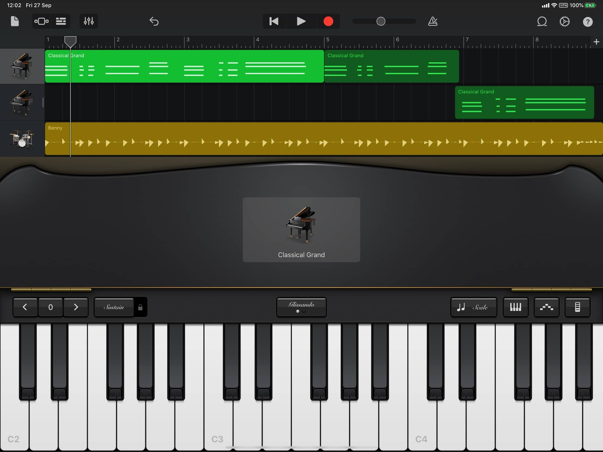 This is GarageBand's light mode. Seriously.