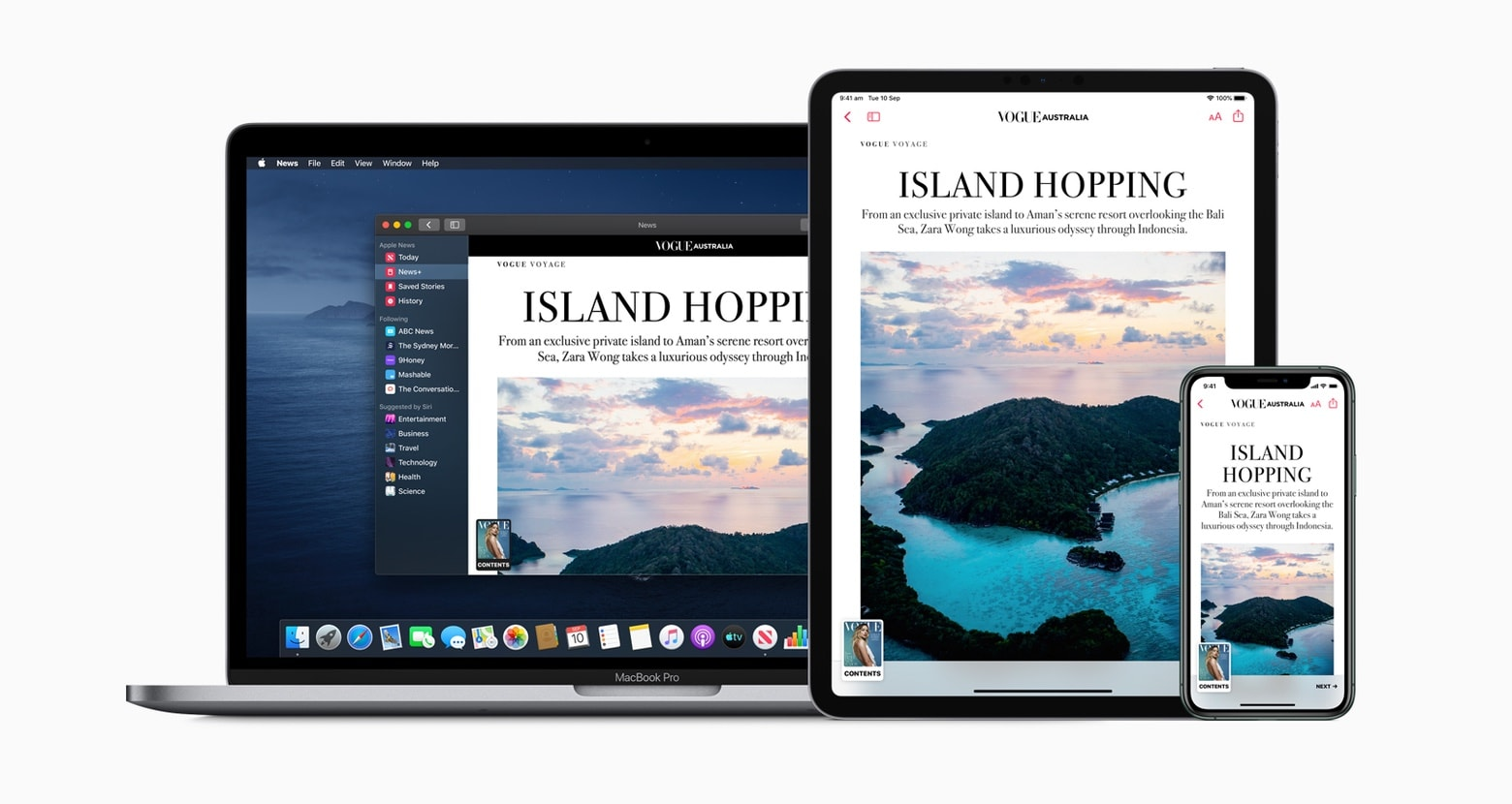 Apple News+ in Australia