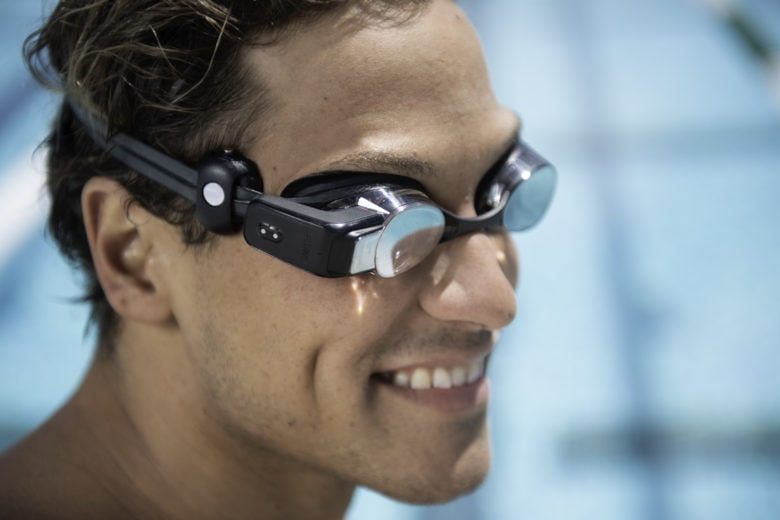 Now you can check your heart rate while you are swimming