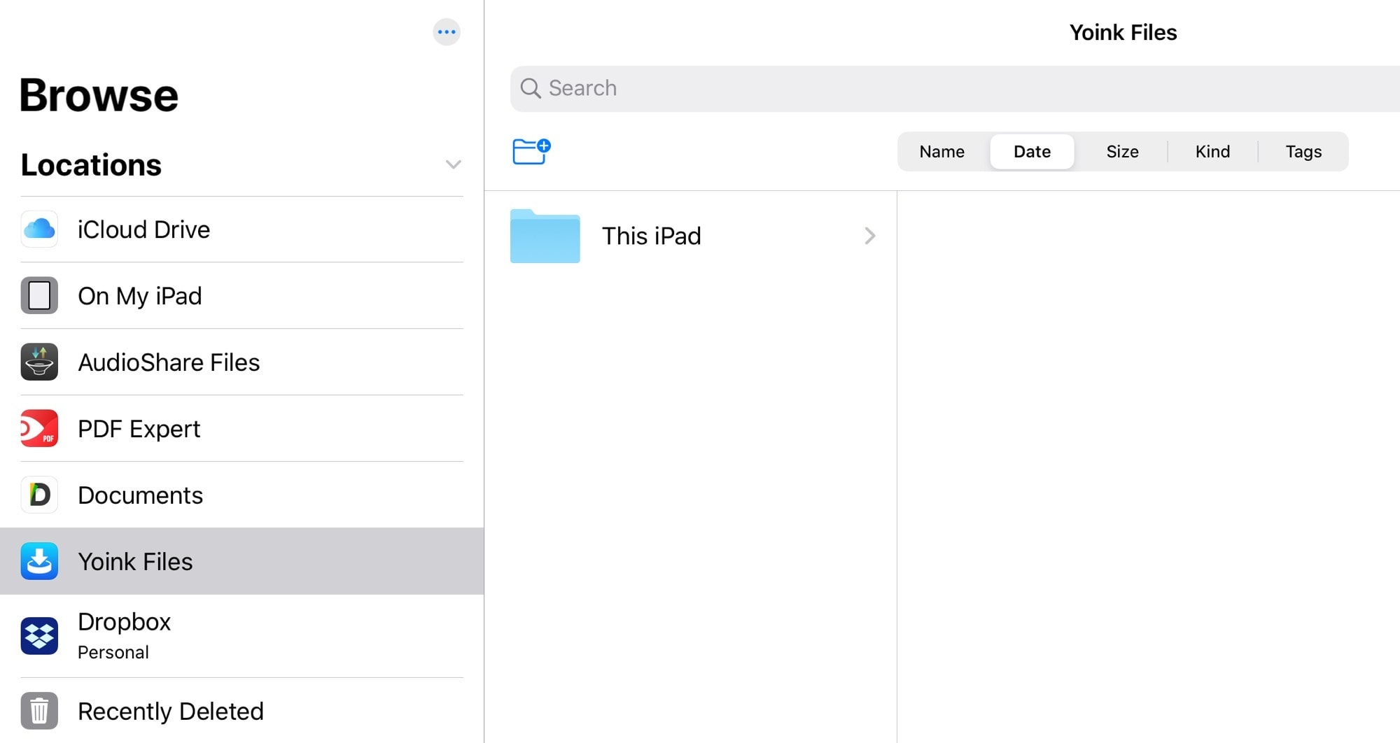 "Those ""locations"" on the left are File Providers."