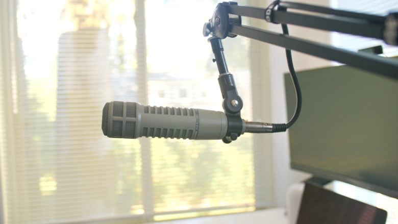 RE20 microphone