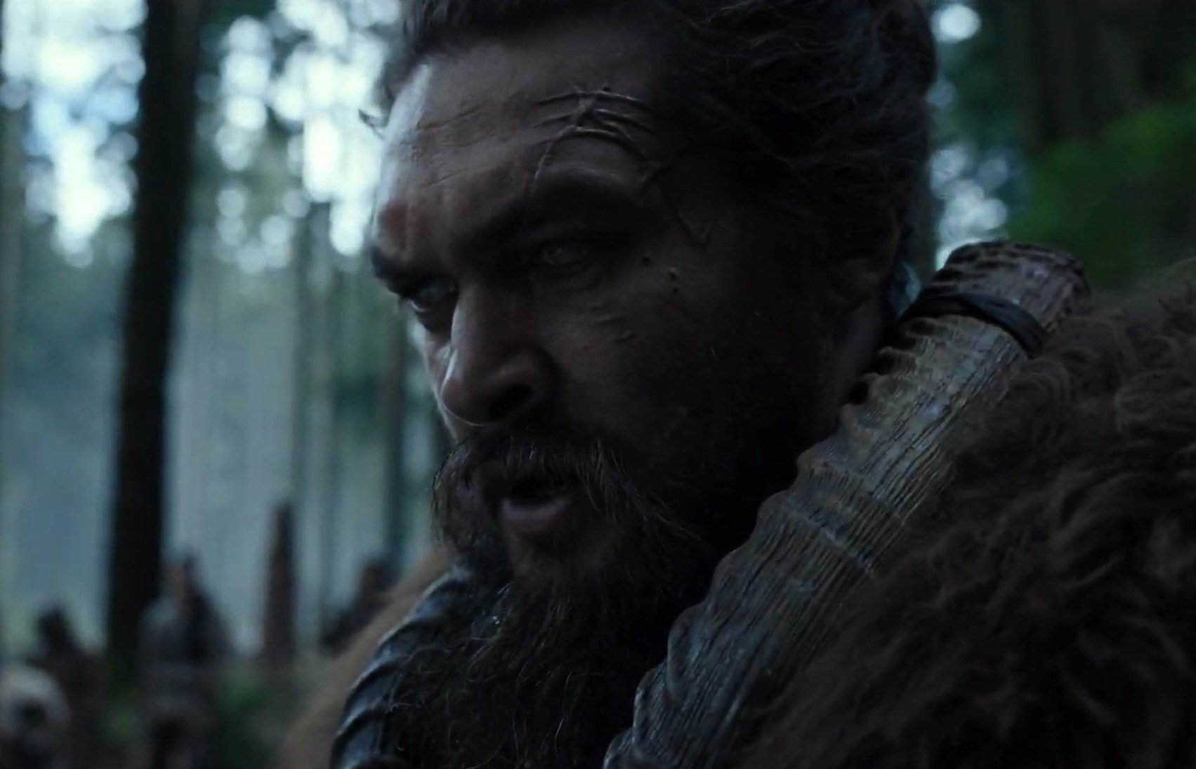 Jason Momoa stars as the hero of 'See,' Apple's TV show about a world in which most people are blind