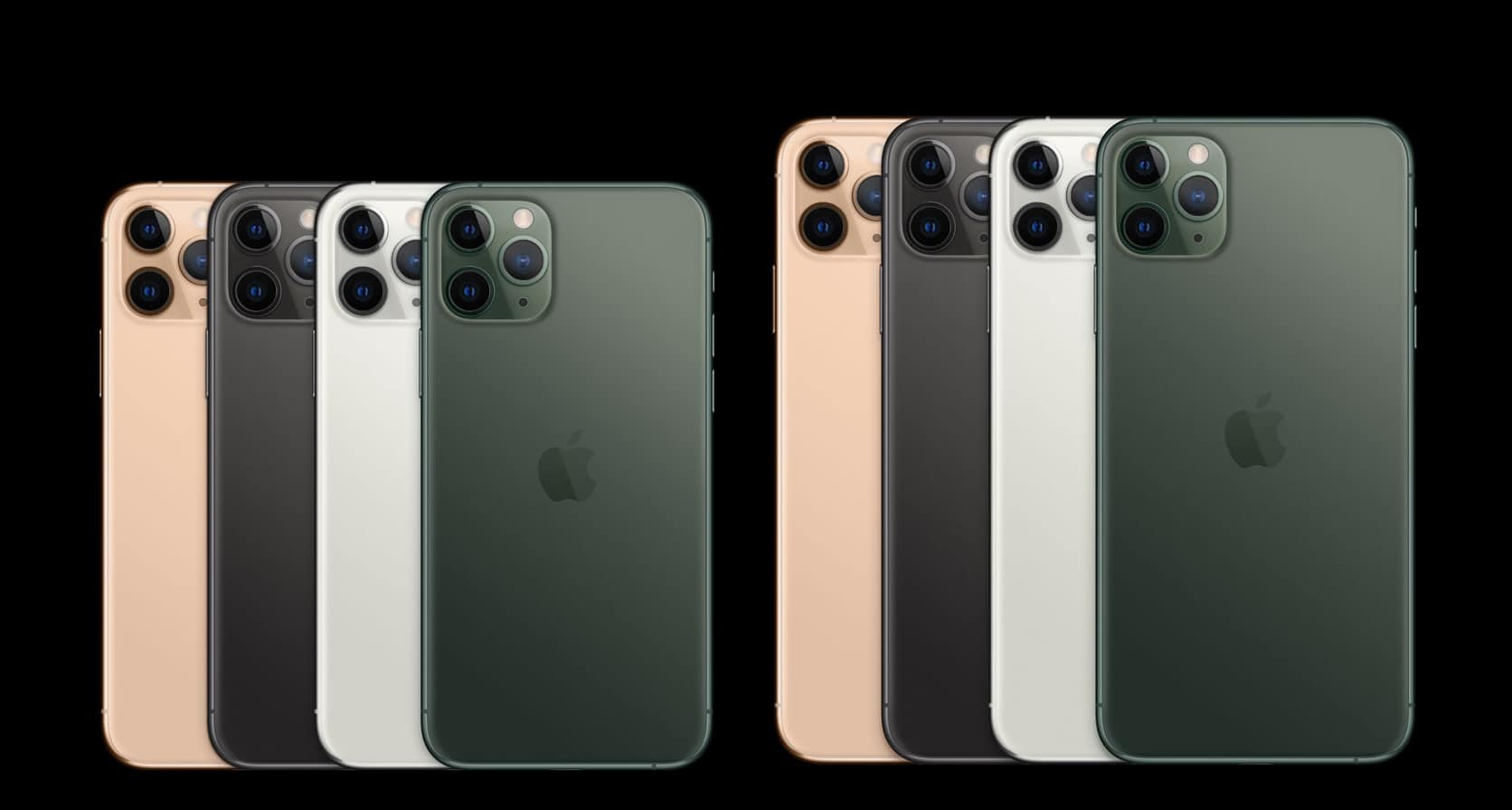 Matte finishes are back in with iPhone 11 Pro.