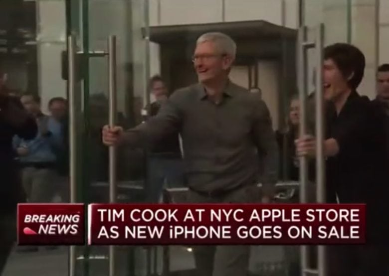 Tim Cook opens doors