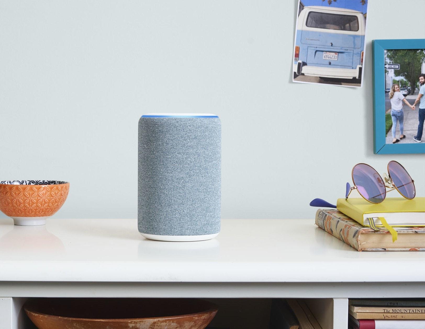 Now Amazon's Echo smart speaker comes in blue