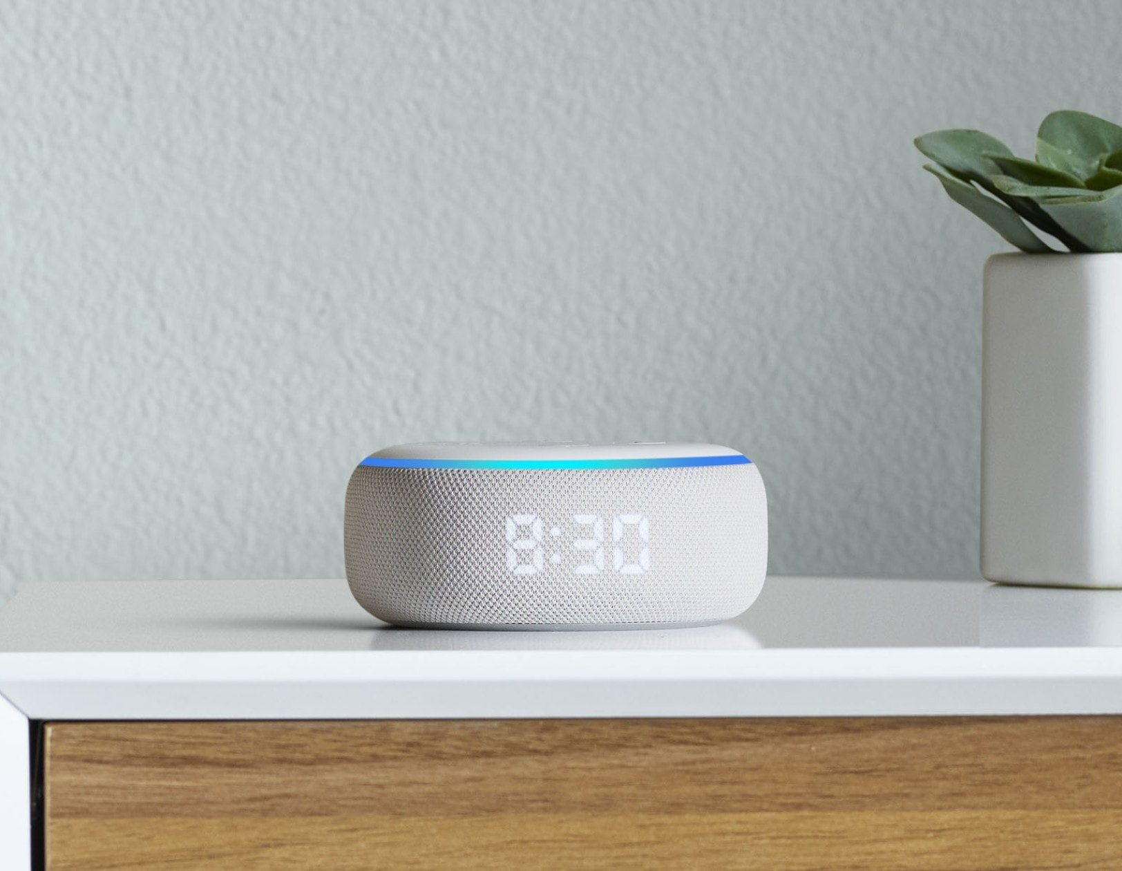 Echo Dot with Clock: The tiniest of the Echoes just got more useful