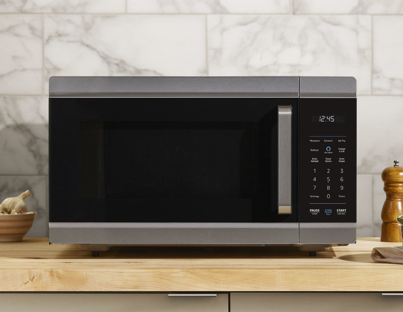 The Echo Smart Oven's scan-to-cook feature works with packaged meals