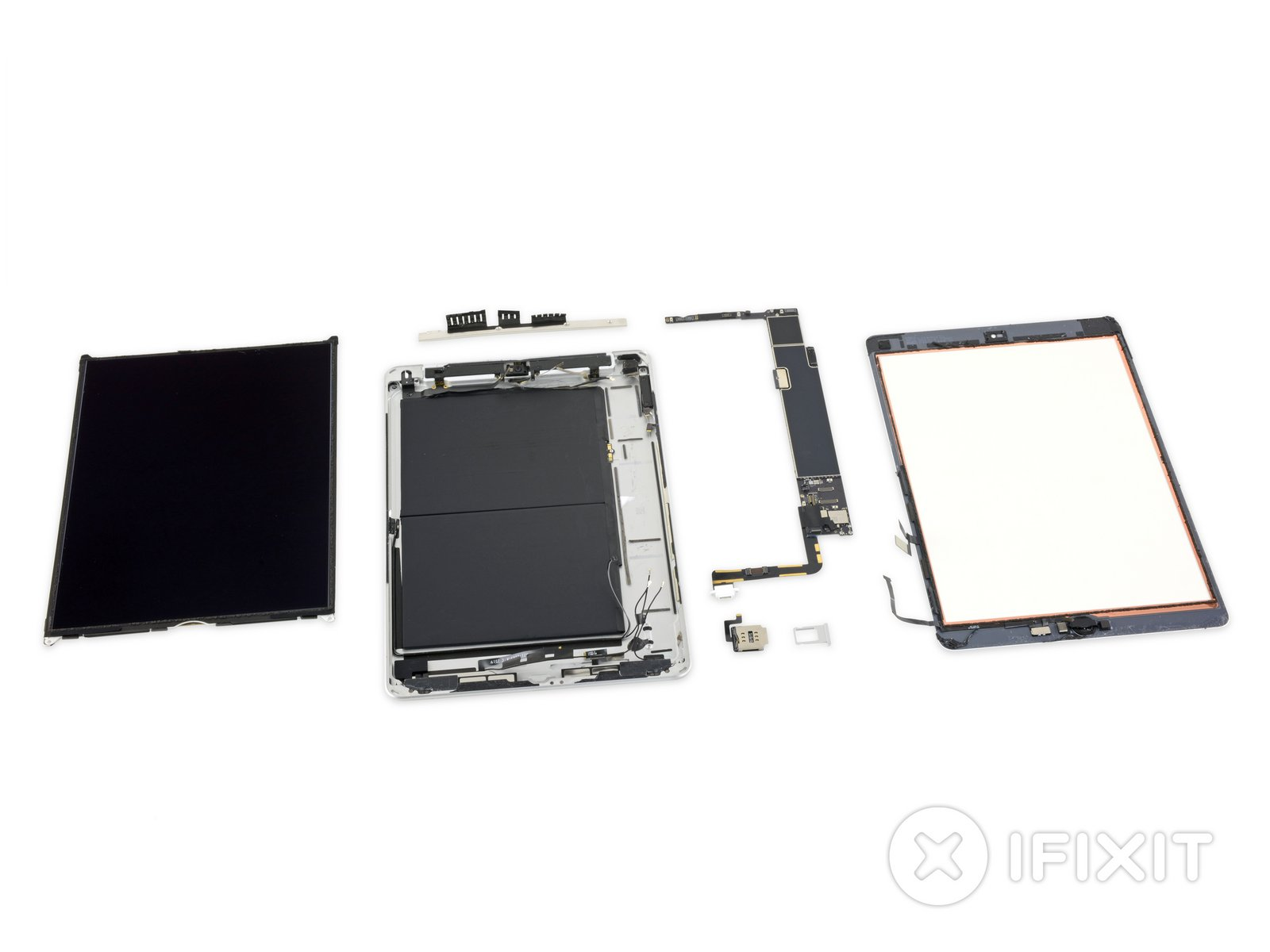 iFixit iPad 10.2 teardown