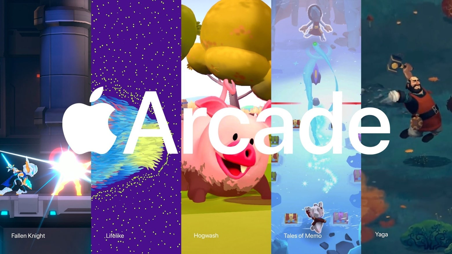 Apple Arcade adds Fallen Knight, Hogwash, and more