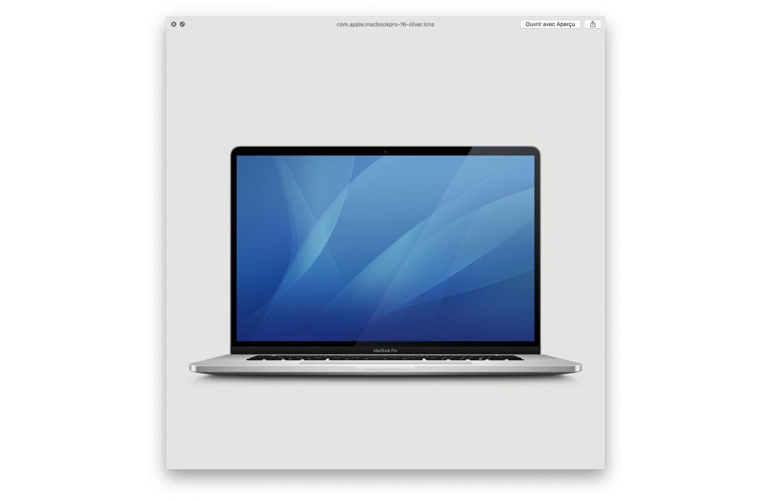 beta icon of MacBook Pro