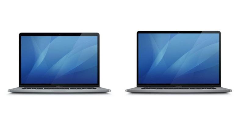 beta icons of MacBook Pro