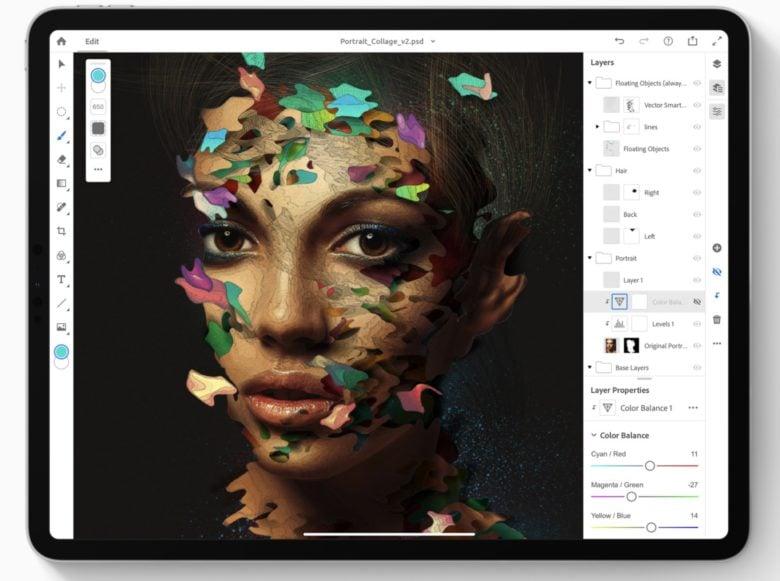 Photoshop-iPad