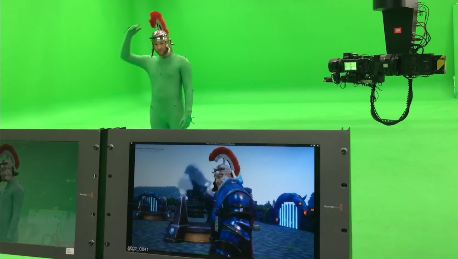 iKinema motion capture