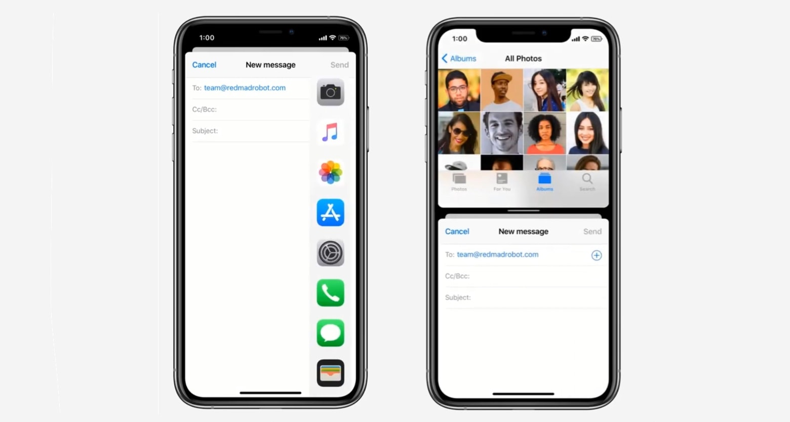 iOS 124 with Sprit View concept