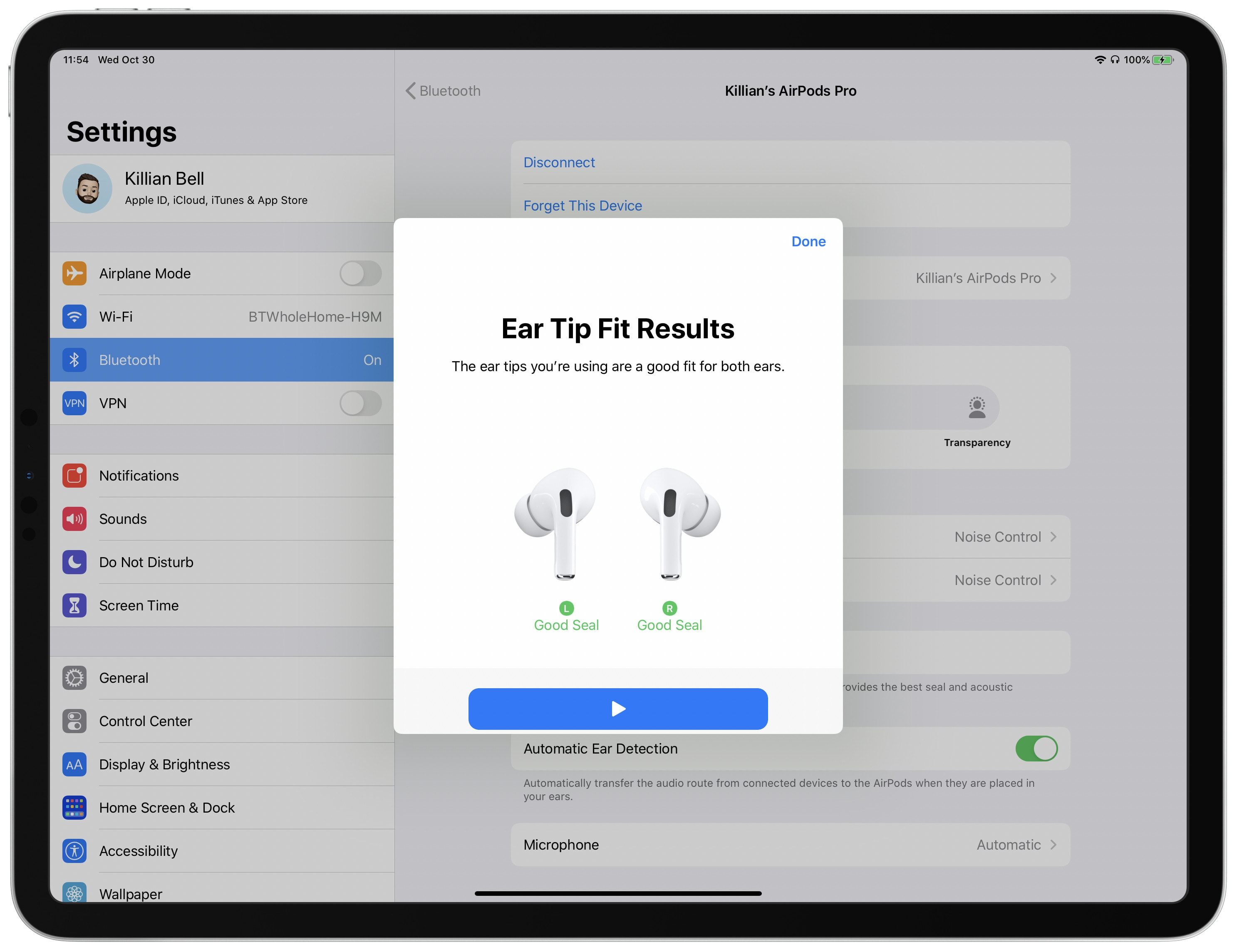 AirPods Pro Ear Tip Fit Test: Are you wearing AirPods Pro properly