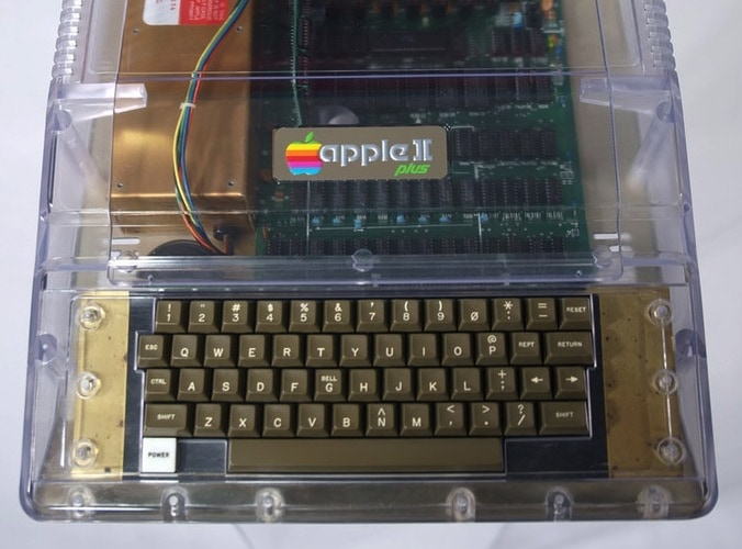 Apple II transparent case Kickstarter 1