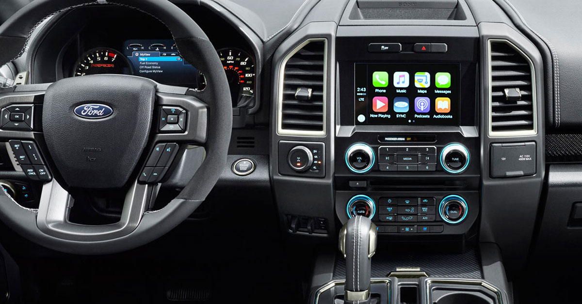 Ford-CarPlay