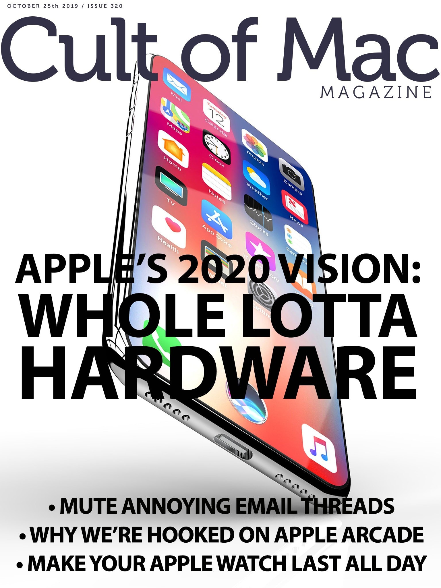 Apple's 2020 vision: Whole lotta hardware