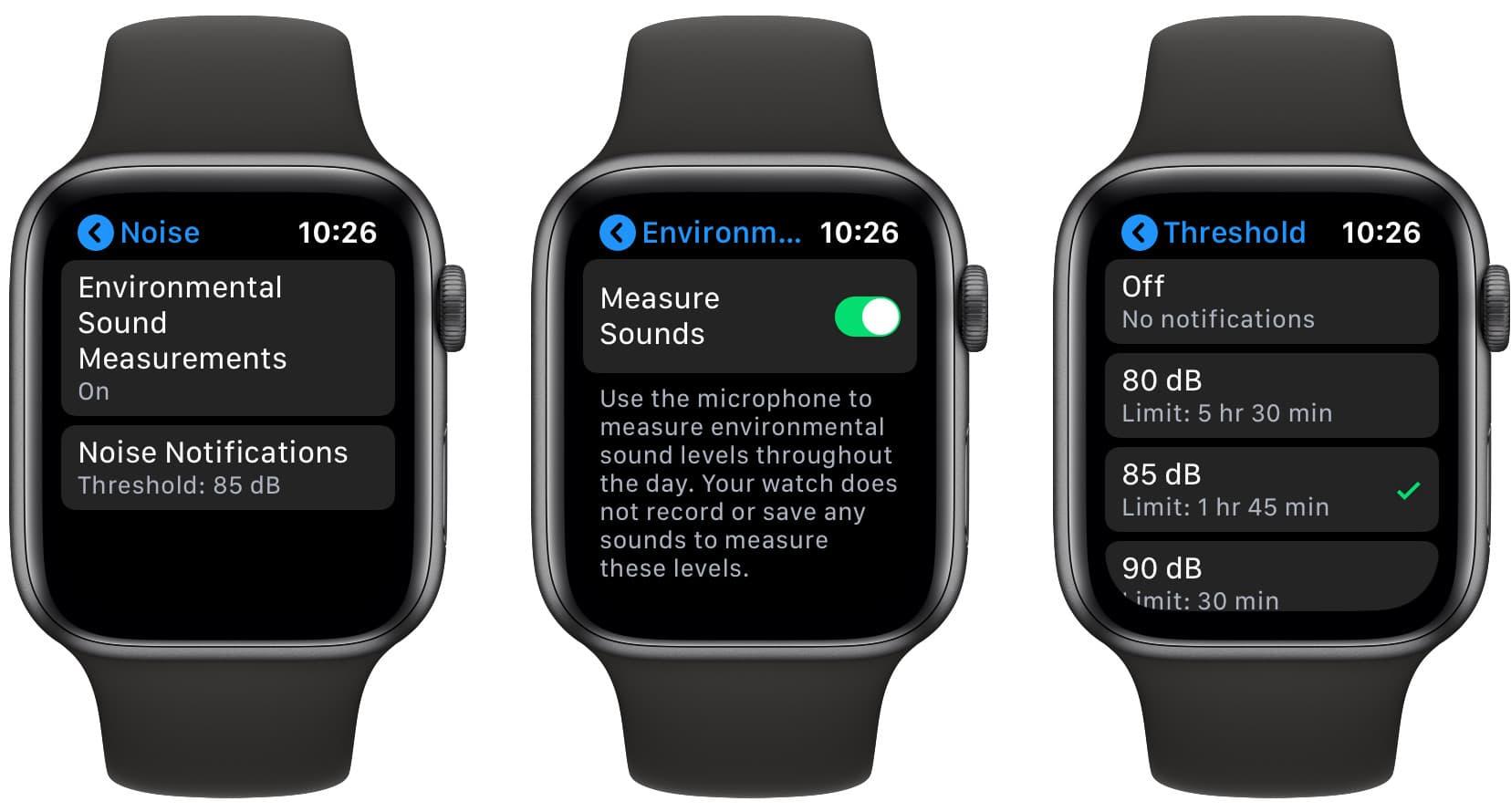 Apple Watch noise
