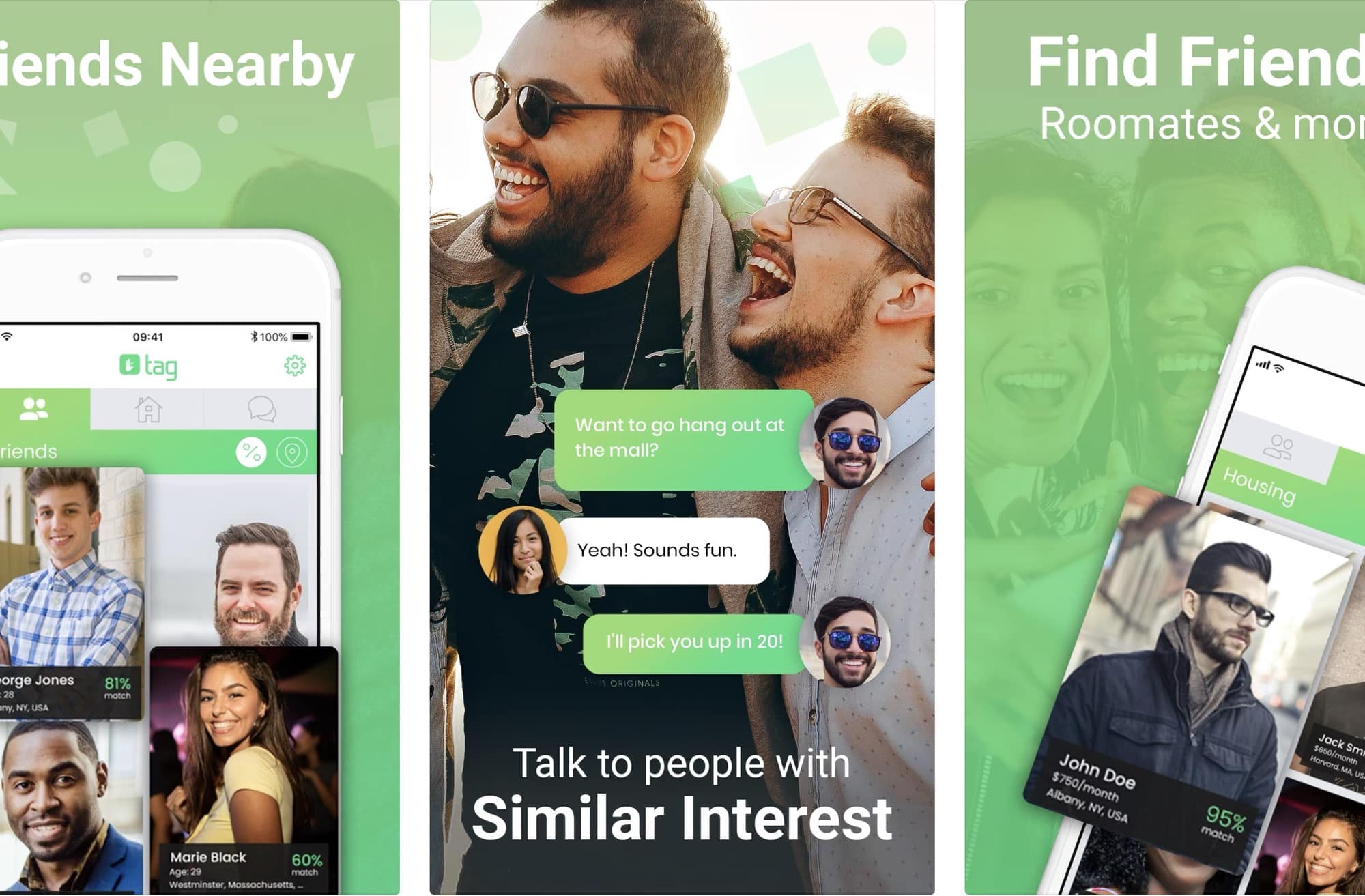 Tag app lets you hook up with locals and make new friends.