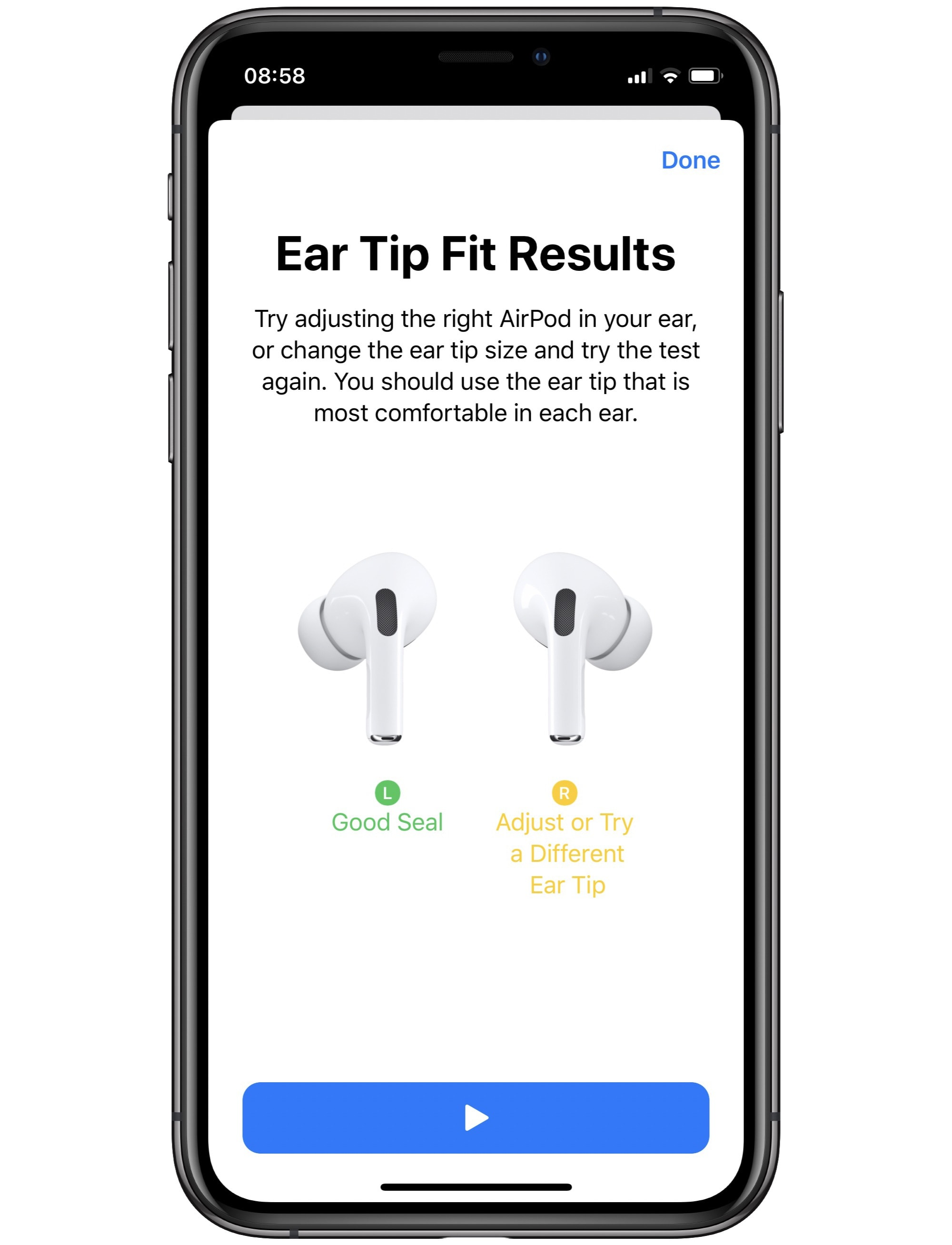 airpods pro in ear fit