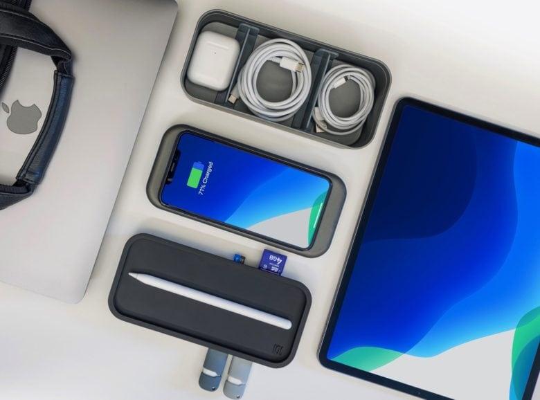 Brilliant BentoStack organizer now packs a USB-C hub, wireless charging