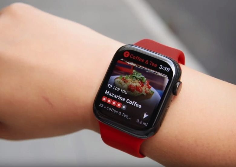 Yelp uses Apple Watch compass to make finding things easier