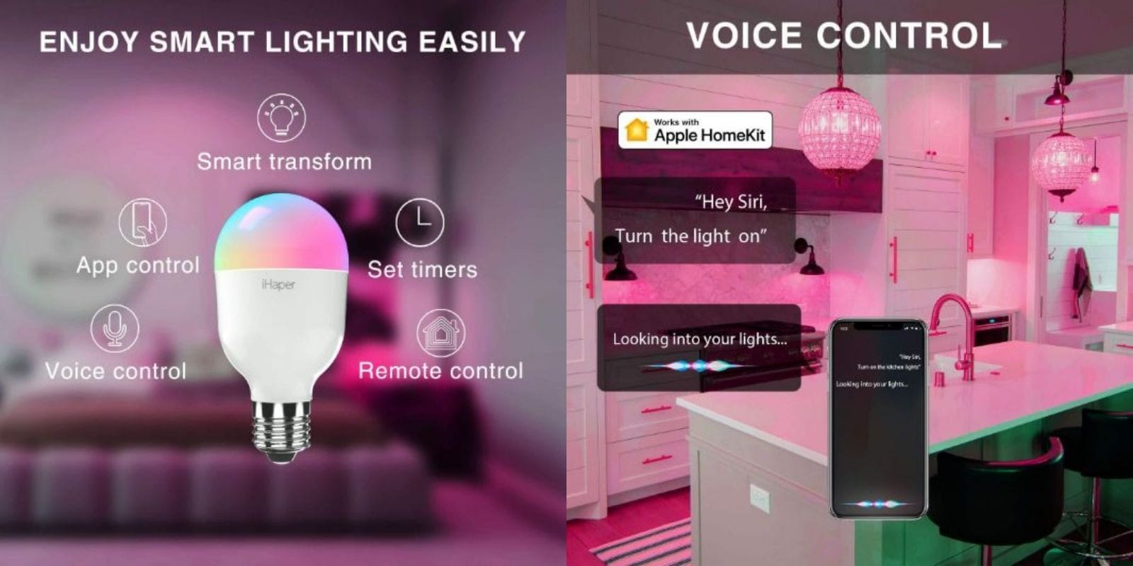 iHaper Smart Bulbs