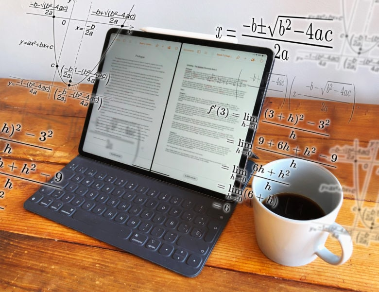 It's not rocket science... oh wait, it is: Opening two files on an iPad.