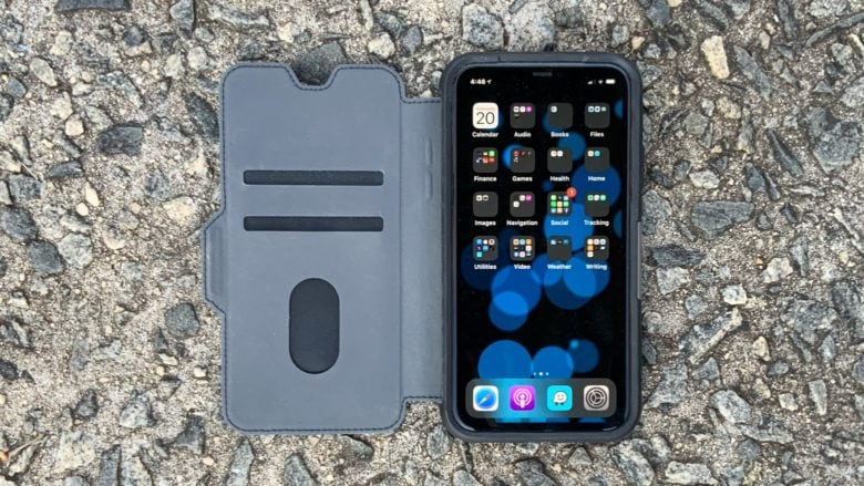 OtterBox Strada Case is also your wallet.