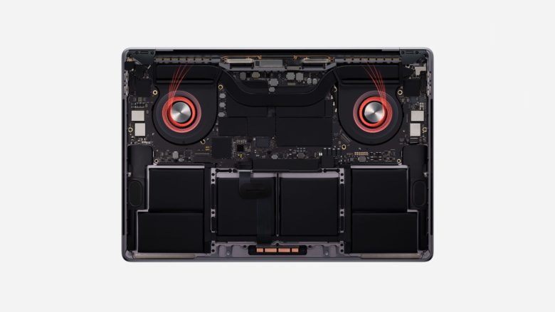 16-inch MacBook Pro thermal management