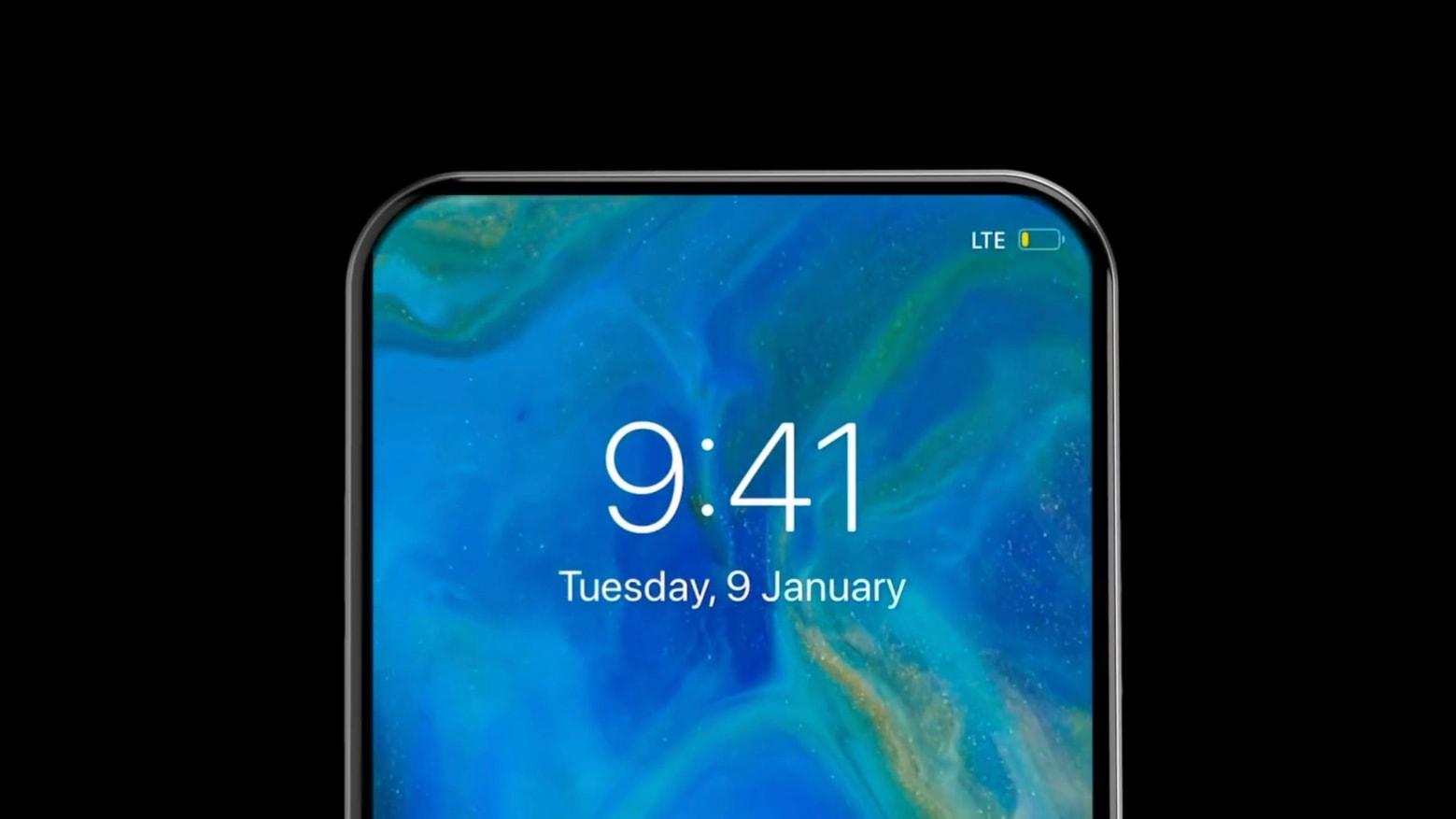 2021 iPhone 12 concept tiene una relación de pantalla a cuerpo del 99%.