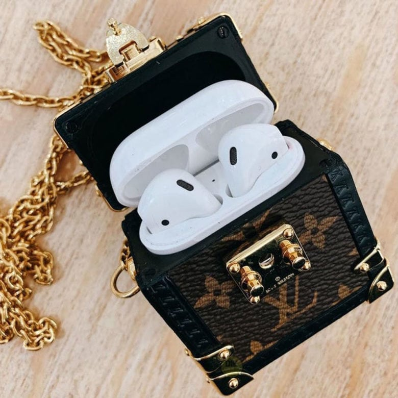 Purse-like AirPods cases